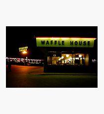 Waffle House near St. Louis, Missouri Photographic Print