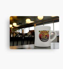 Waffle House Coffee Mug Metal Print