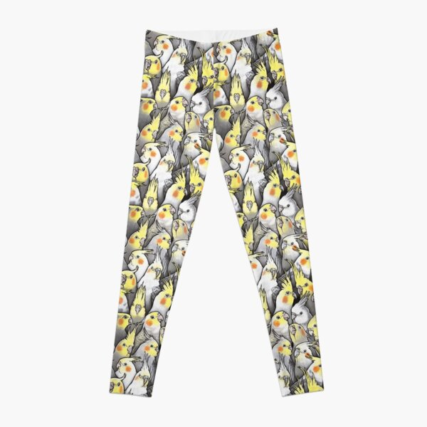 Cockatiels Galore Leggings