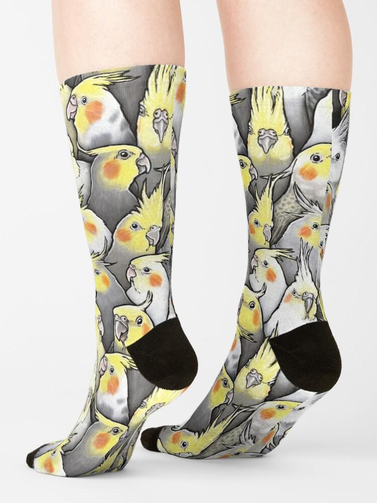 Alternate view of Cockatiels Galore Socks