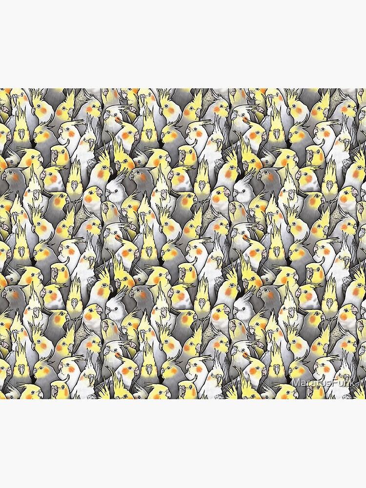 Cockatiels Galore by MaratusFunk