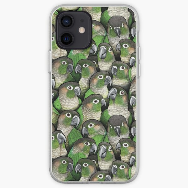 Green-cheeked Conures iPhone Soft Case