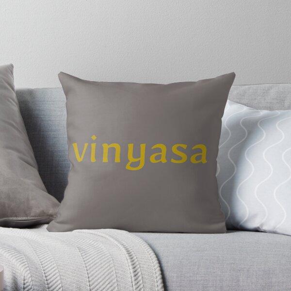 Vinyasa Throw Pillow