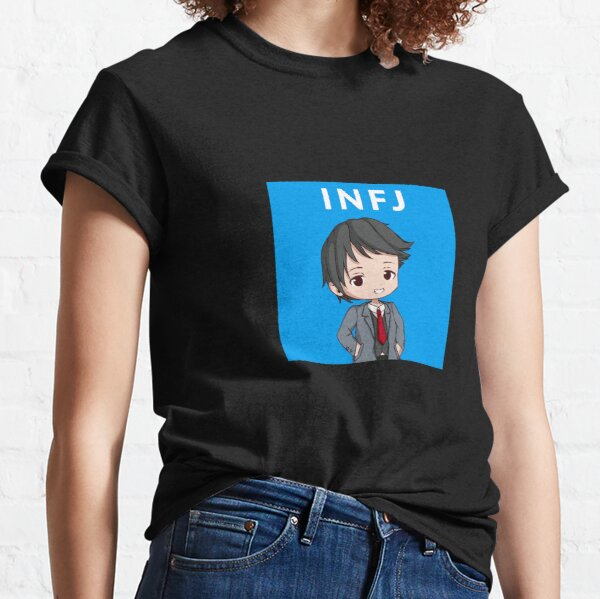 INFJ Personality (Anime Style) Classic T-Shirt