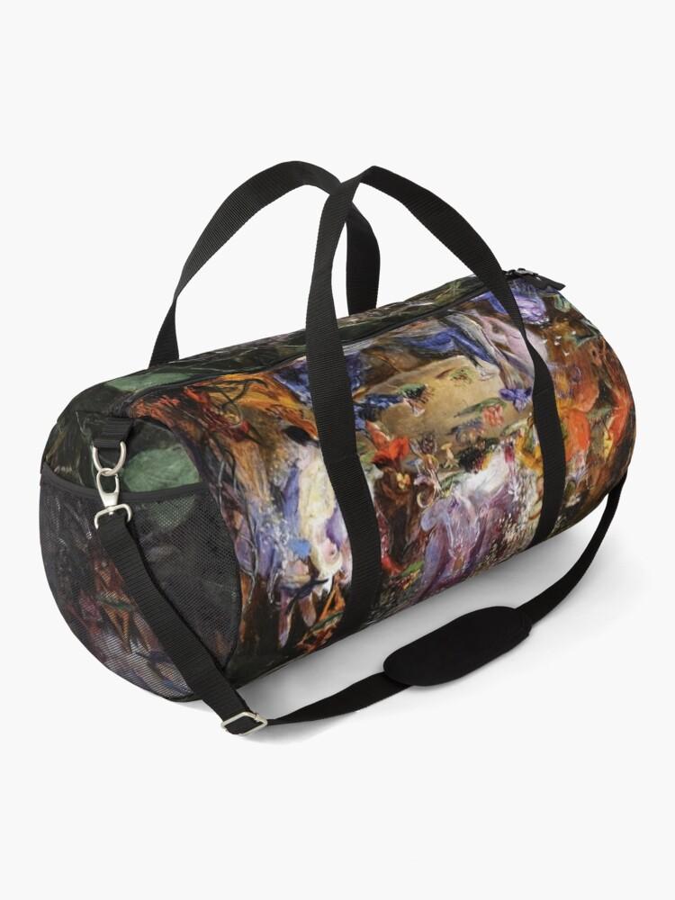 Alternate view of FAIRY BANQUET Wood Fairies Duffle Bag
