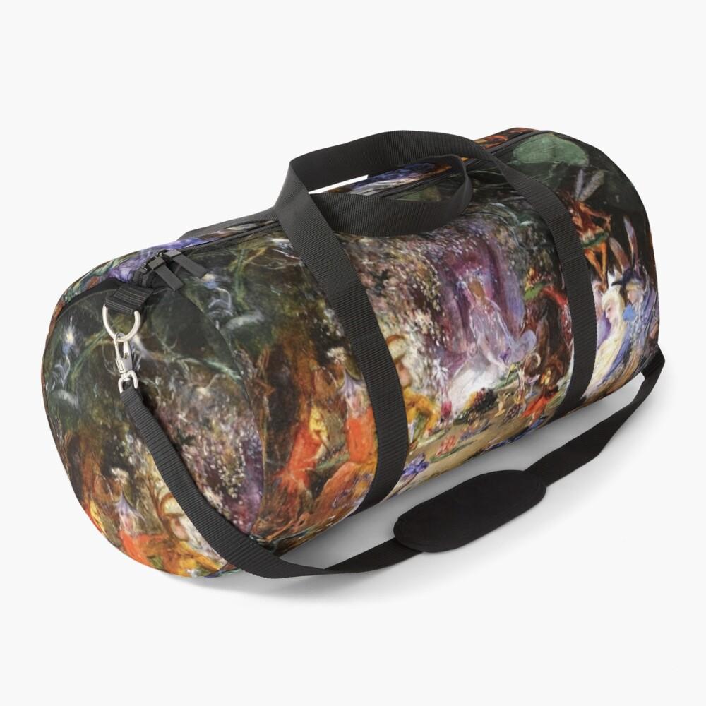 FAIRY BANQUET Wood Fairies Duffle Bag
