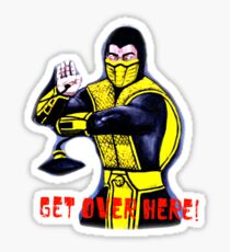 Mortal Kombat Scorpion Sticker