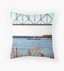 Barge (2) Throw Pillow