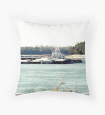 Barge (4) Throw Pillow