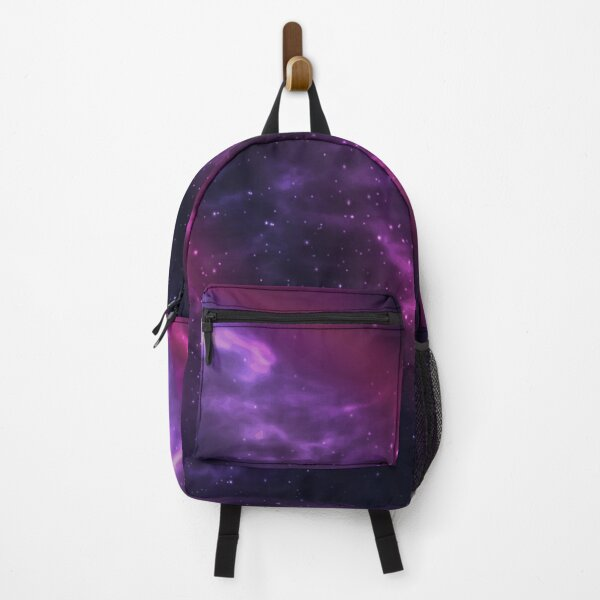 Purple Cosmos Space Galaxy Art Backpack