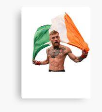 Conor McGregor UFC Fighter Canvas Print