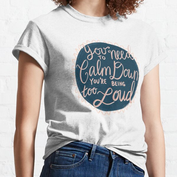 Taylor Swift You Need to Calm Down Classic T-Shirt