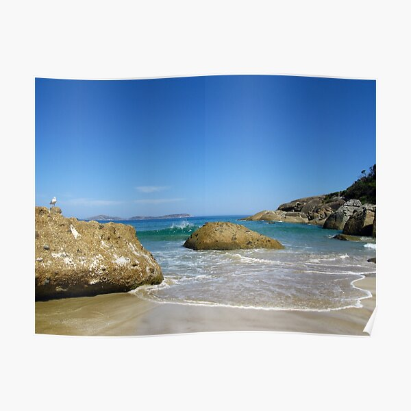 Squeaky Beach - Wilsons Promontory National Park Poster