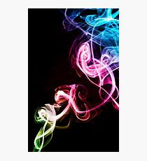 Smoke Photography Photographic Print