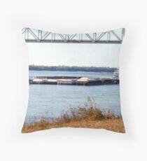 Barge (9) Throw Pillow