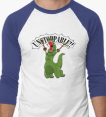 Unstoppable T-Rex Men's Baseball ¾ T-Shirt