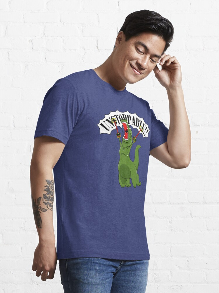 Alternate view of Unstoppable T-Rex Essential T-Shirt