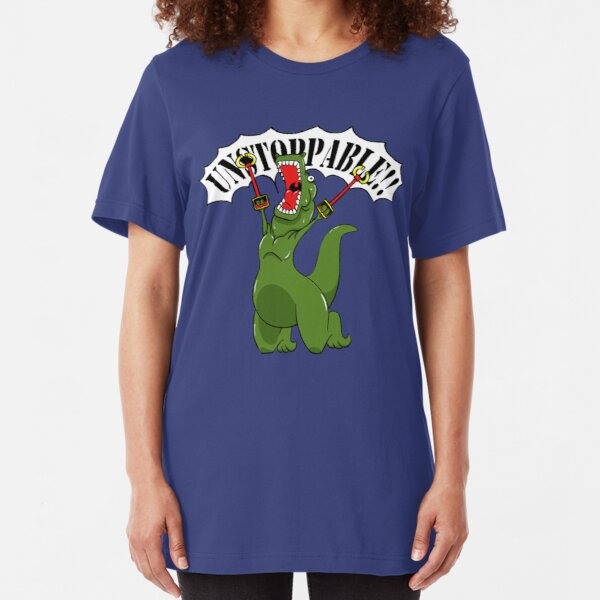 Unstoppable T-Rex Slim Fit T-Shirt