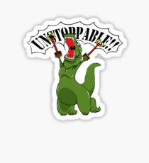 Unstoppable T-Rex Sticker