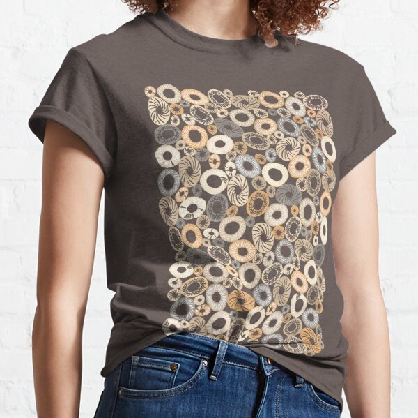 that reminds of stones or microbiological beings. Classic T-Shirt