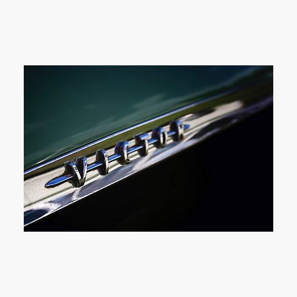 Vauxhall Victor Classic Car Badge Photographic Print