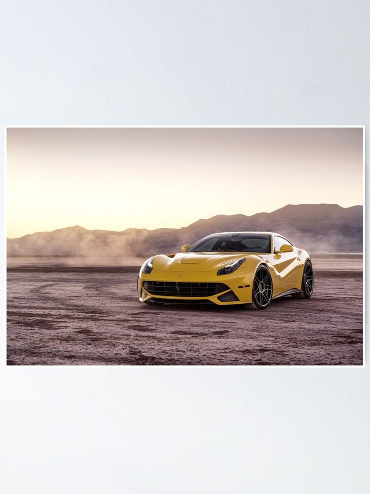 Alternate view of Ferrari F12 Berlinetta Poster