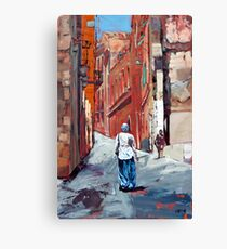The Old Town, Sardinia, Italy Canvas Print