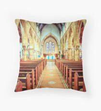 Catholic Cathedral Throw Pillow