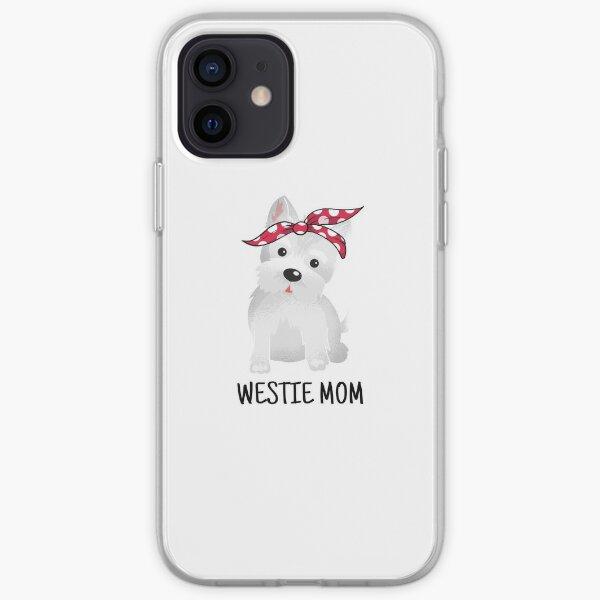 Westie Mom Cute Dog iPhone Soft Case