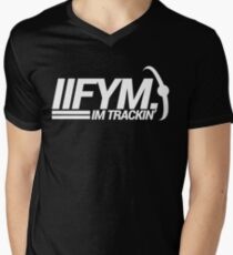 IIFYM - I'm Tracking Mens V-Neck T-Shirt