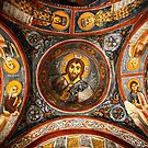 """Pantokrator in the """"Dark"""" Church by Hercules Milas"""