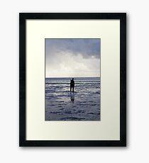 Kite Surfing - 1372 Framed Print