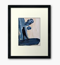 Thought Bubble  Framed Print