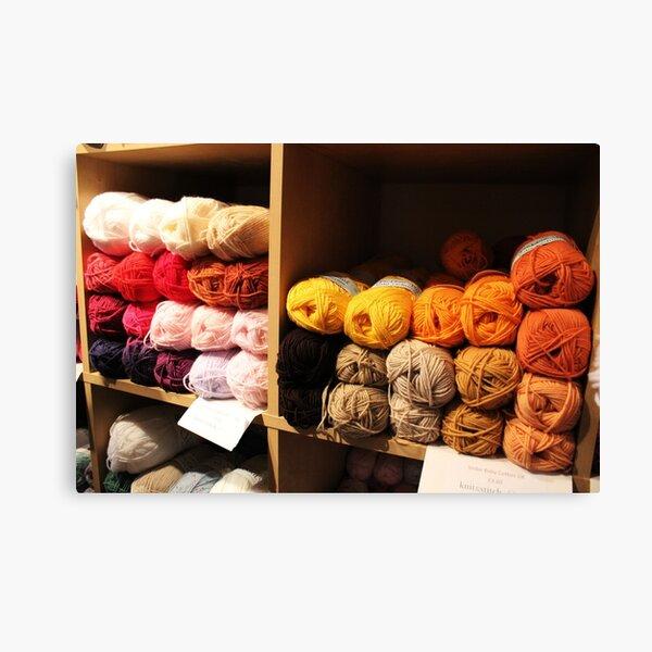 Balls of Wool Canvas Print