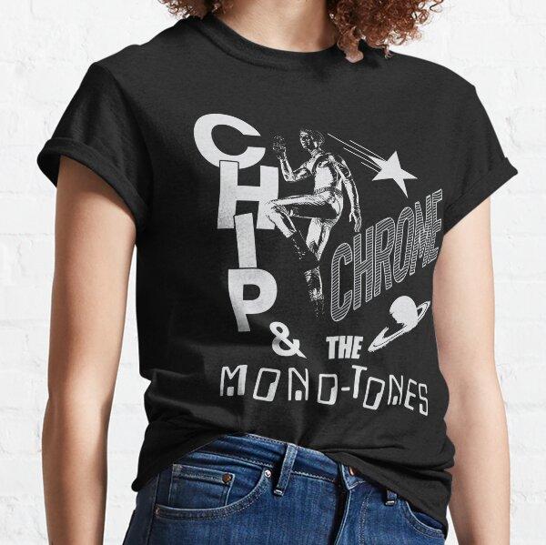 La puce de voisinage Chrome et les monotones T-shirt classique