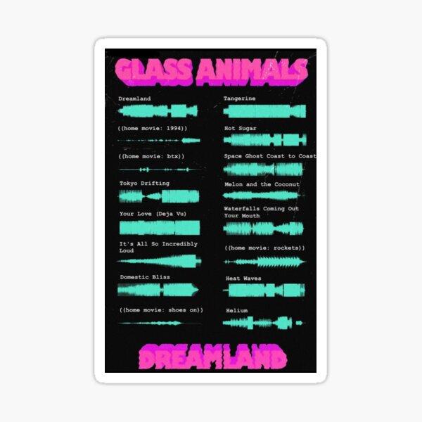 Glass Animals Dreamland Sticker