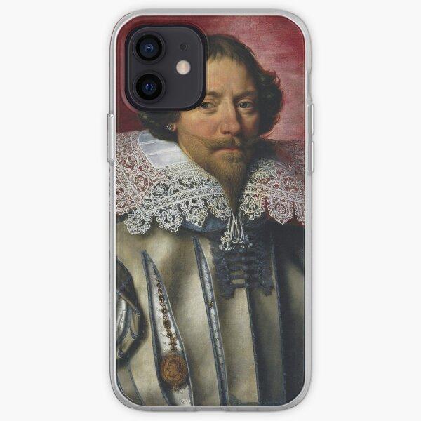 Frans Pourbus The Younger - Portrait Of A Man iPhone Soft Case