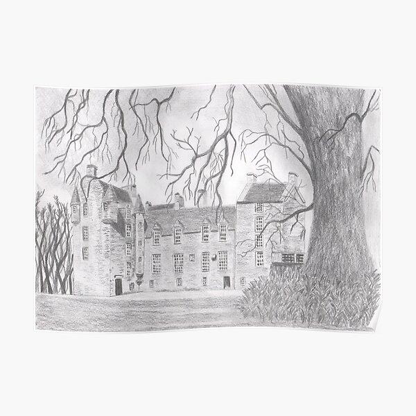 scottish castles wall art redbubble