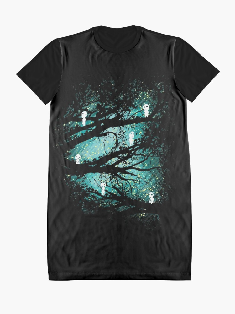 Alternate view of Tree Spirits Graphic T-Shirt Dress