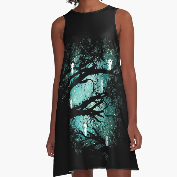 Tree Spirits A-Line Dress