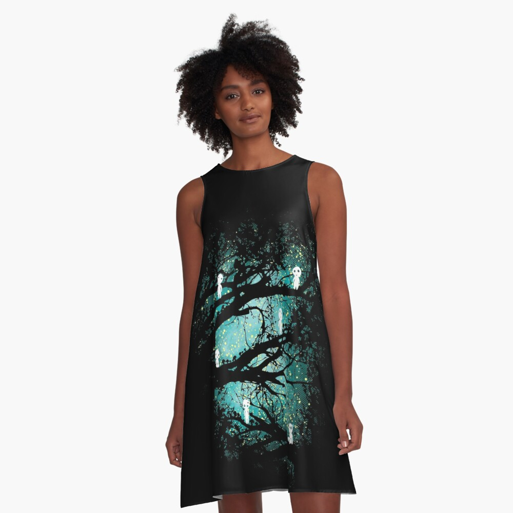 Tree Spirits A-Line Dress