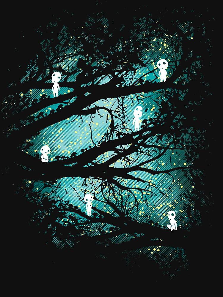 Tree Spirits by Daletheskater