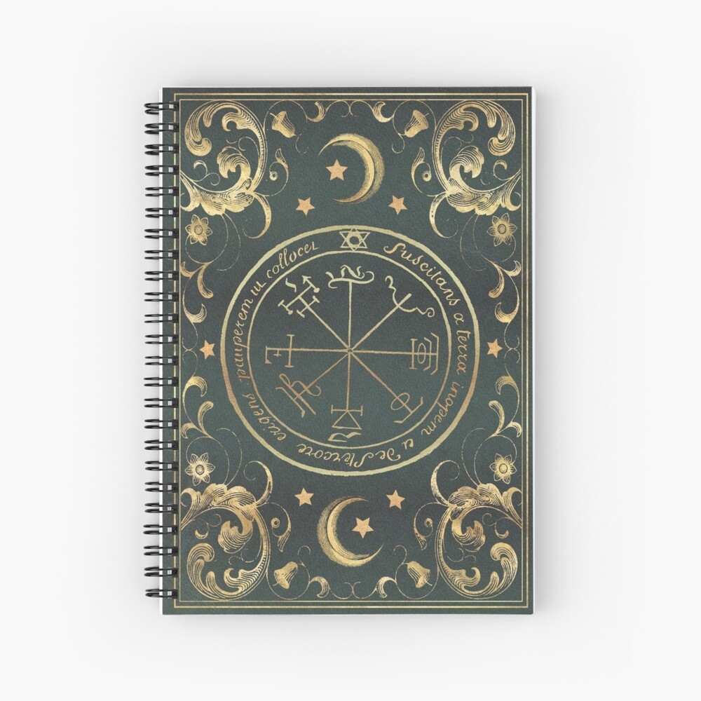 Seal magic grimoire Spiral Notebook