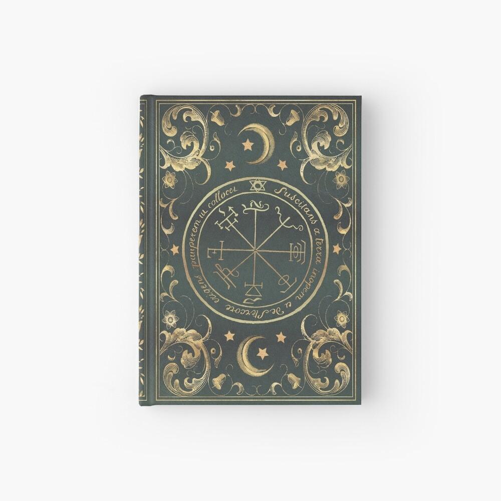 Seal magic grimoire Hardcover Journal