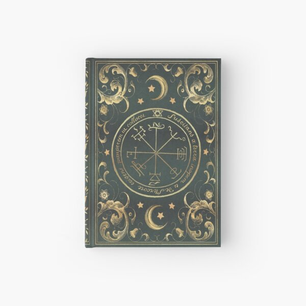 Seal magic grimoire Hardcover Journal