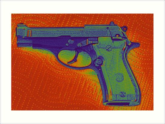 Pistol by Thomas Chorbak