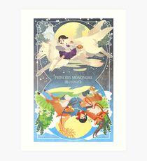 spirit princess, mortal prince Art Print