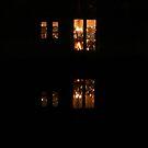 Xmas reflections by shortarcasart