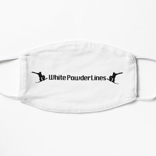 White Powder Lines Mask