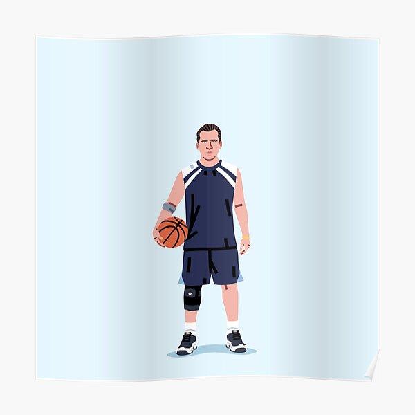 Basketball Michael Poster